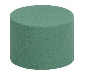 Aranžovací hmota zelená váleček 8 x 5 cm - 1ks