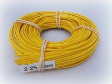 Barvený pedig 2,20mm, 230gr Žlutý