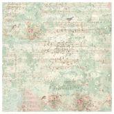 Rýžový papír na decoupage 14g/m2 NOTY 50 x 50 cm