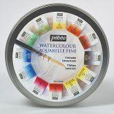 Sada akvarelových barev pánvičky PEBEO  - 12 ks