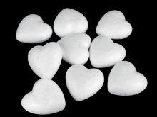 Srdce polystyren 3,4cm