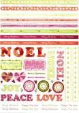 Zobrazit detail - Kreativní  papír výřez BORDURY 21x29,5cm