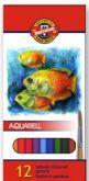 Pastelky akvarelové MONDELUZ 12ks