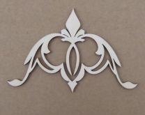 Dřevěný výsek Ornament 10cm