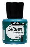 Barva na hedvábí SETASILK 45ml - ŽLUTÁ Pebeo