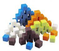 Dekorační aranžovací hmota KOSTKY oassis cca 2 x 2 cm - 10 ks
