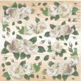 Rýžový papír RŮŽE  50 x 50 cm