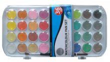 Sada akvarelových barev DALER ROWNEY 36 barev + štetec
