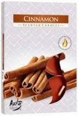 Vonná čajová svíčka - Skořice 6 ks