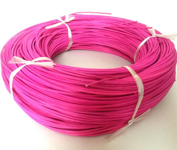 Barvený pedig 2,25 mm 100gr, vhodný na pletení košíků a výrobě dekorace