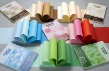 Blok papírů 5 odstínů  170g/m2, A4 - 20 ks