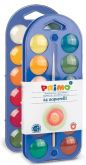 Vodové barvy PRIMO + paleta + štětec - 24 barev