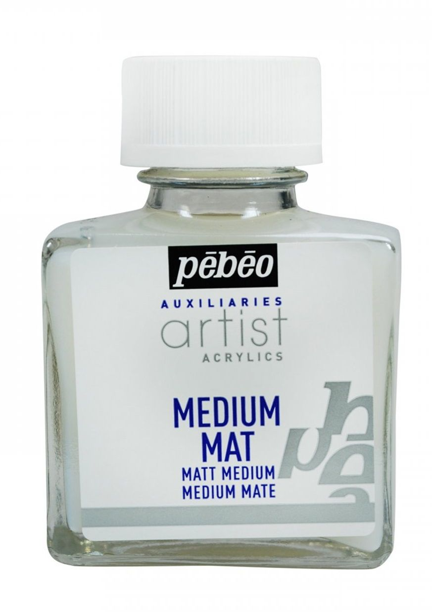 Matné médium k akrylovým barvám, 75 ml