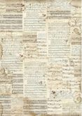 Rýžový papír NOTY  Stamperia  30x42cm