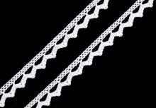 Krajka bavlněná paličkovaná  9mm