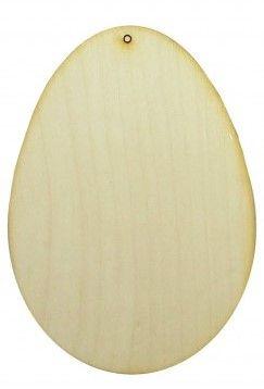 Dřevěný závěs VEJCE 15 x 10,5cm