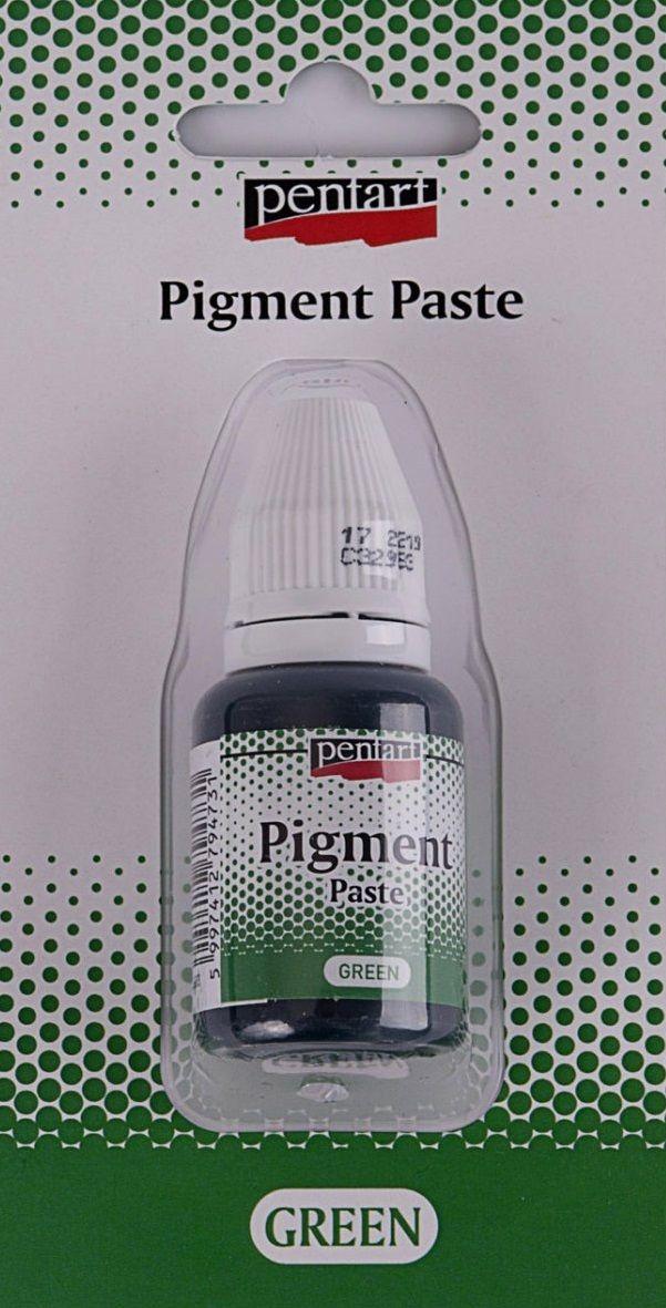 Pigmentová pasta Pentart 20ml - zelená