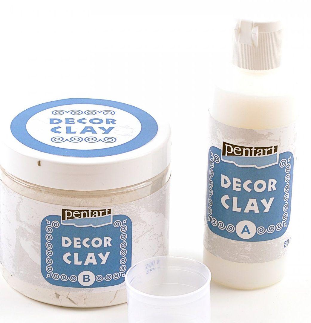 Dvousložková licí hmota na odlitky DECOR CLAY 280g Pentart