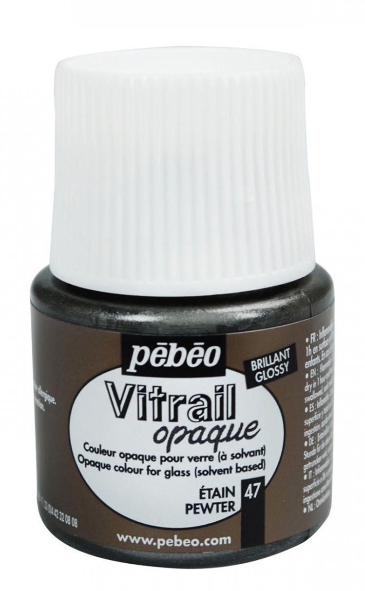Barva na sklo Vitrail Pébéo - PERLEŤOVÁ Pebeo