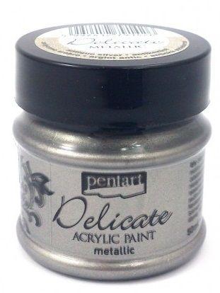 Akrylová metalická barva Pentart - 50 ml