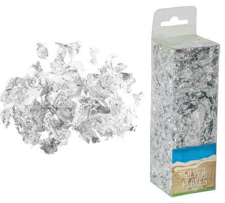 Metalické lupínky v krabičce STŘÍBRNÉ 10g