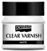 Syntetický lak CLEAR  matný Pentart - 50ml