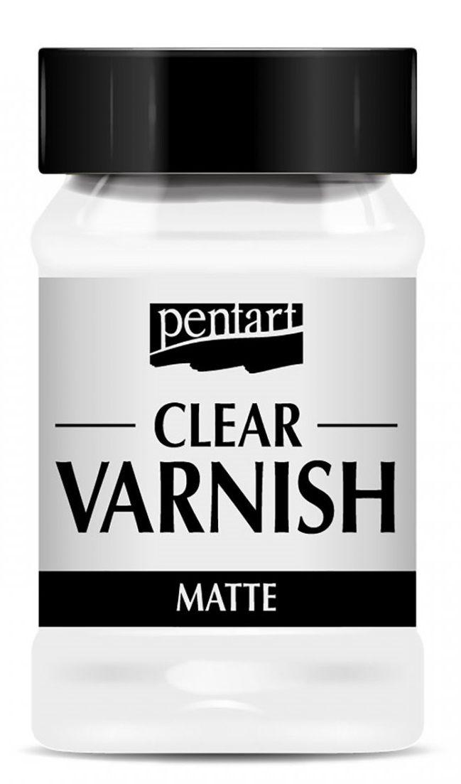 Syntetický lak CLEAR matný Pentart - 100ml
