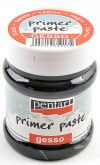 Akrylová podkladová pasta Gesso primer PENTART černá 230ml