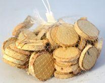 Dekorace dřevěné špalíčky cca 8 cm - 1 balení