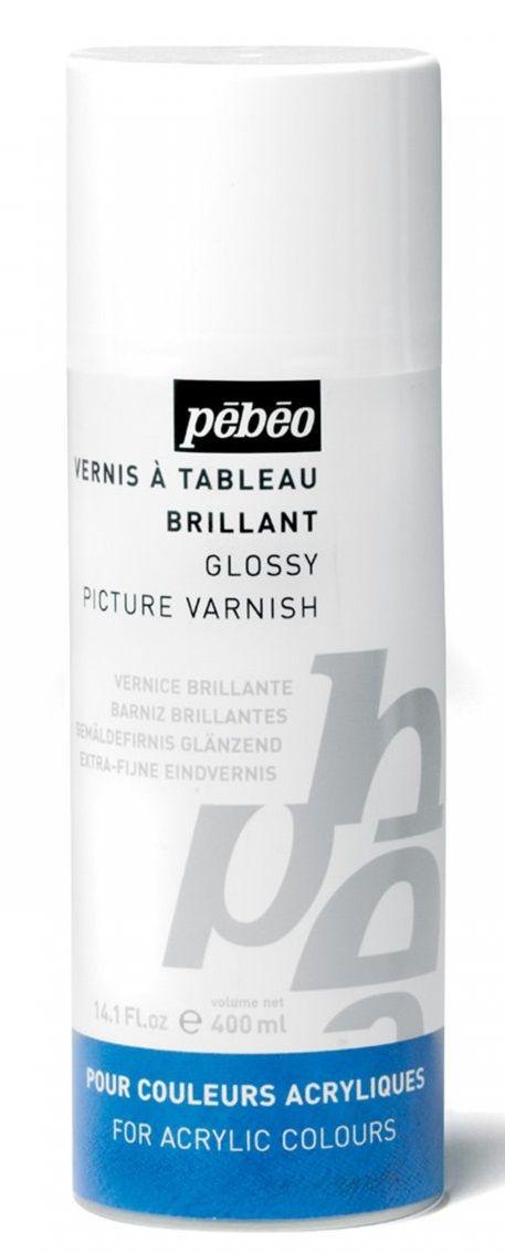 Lak lesklý PEBEO pro akrylové barvy a decoupage - 400ml