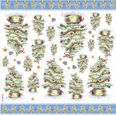 Rýžový papír STROMEČKY  50 x 50 cm