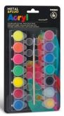 Sada akrylové barvy  METAL FLUO 14 x 4,5ml - 1