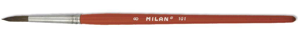 Štětec kulatý Milan vlas pony tempus