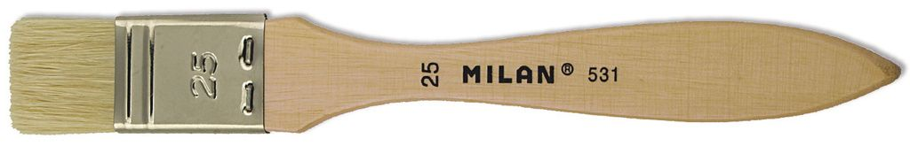 Štětec široký plochý MILAN