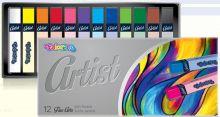 Suché umělecké pastely ARTIST FINE ARTS - 12ks