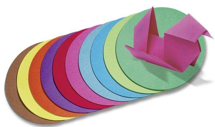 Origami kulaté mix FOLIA 15cm 70g/m2 - 100ks