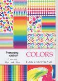 Kreativní papíry HAPPY COLORS 80g/m2 A4 - 15listů