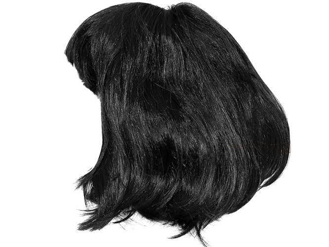 Paruka černé vlasy