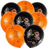 Nafukovací balonek HALLOWEEN  25cm - 1ks