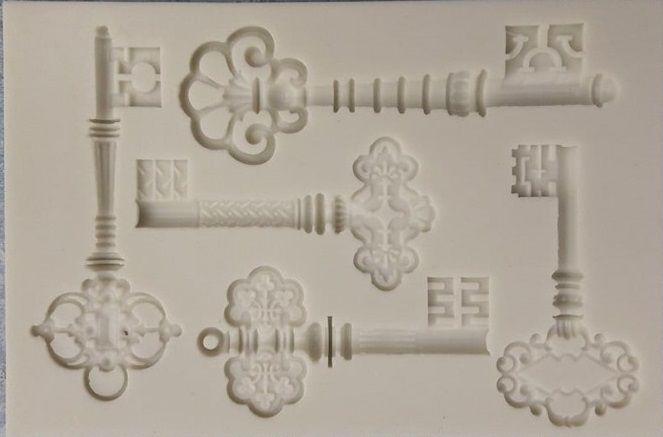 Forma silikonová KLÍČE 12,5x8,5 cm