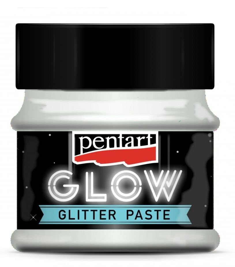 Glitrová pasta svítící ve tme PENTART 50ml