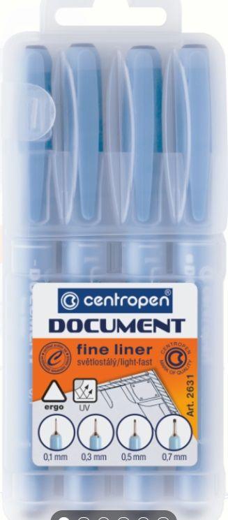 Liner CENTROPEN - 4ks