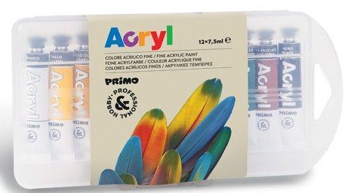 Sada akrylové barvy MOROCOLOR 7,5ml - 12ks