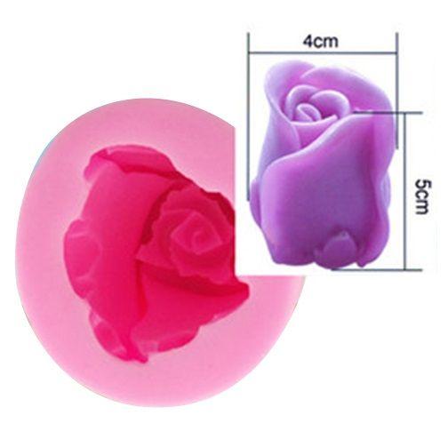 Forma silikonová RŮŽE 54x52mm