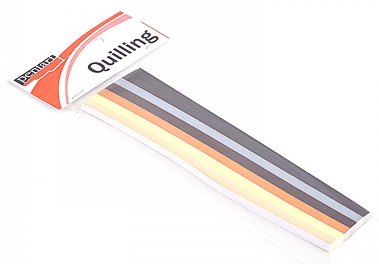 Papírové proužky na Quilling 5mm - 300ks