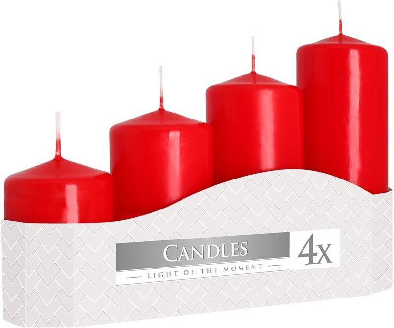 Adventní svíčky schody - 4ks