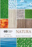 Kreativní papíry NATUR 80g/m2 A4 - 15listů