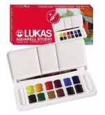 Sada akvarelových barev LUKAS 12ks + štětec