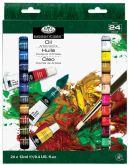 Sada olejových barev Royal & LANGNICKEL 24 ks x 12 ml