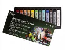 Suché umělecké pastely Mungyo standart - 12ks